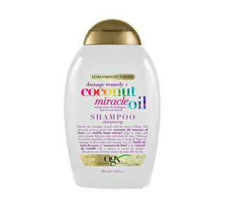 Coconut Miracle Oil Damage Remedy Shampoo , 385 ml