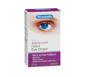 Image of product Personnelle - Advanced Relief Eye Drops, 15 ml