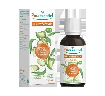 Sweet Almond Organic Vegetable Oil, 30 ml