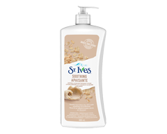 Image of product St. Ives - Body Lotion, 600 ml, Oatmeal & Shea Butter, Naturally Smoothing