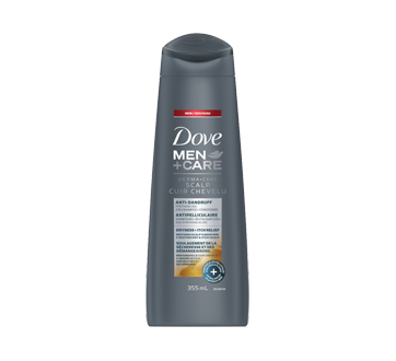 Image of product Dove Men + Care - Derma+Care 2 in 1 Shampoo and Conditioner, 355 ml
