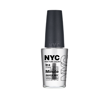 In a New York Color Minute Quick Dry Nail Polish, 9.7 ml – NYC New ...