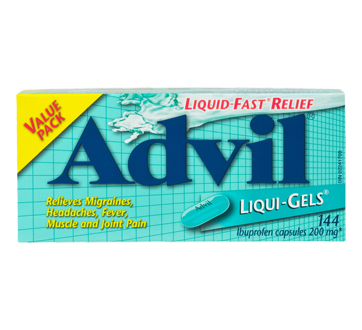 Image of product Advil - Liqui-Gels, 144 units