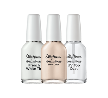 Image 2 of product Sally Hansen - Hard As Nails French Manicure Kit, 3 units , Nearly Nude