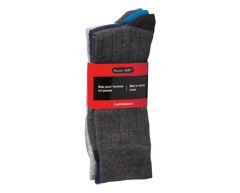 Image of product Studio 530 - Men's Socks Crew, 3 units, Black