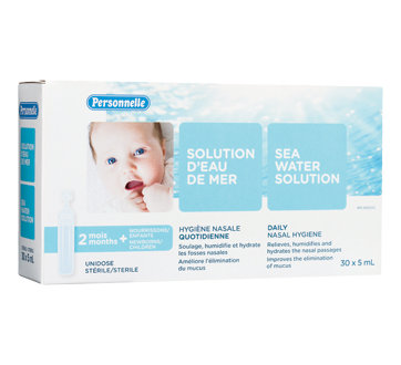 Image of product Personnelle - Sea Water Solution, 30 x 5 ml