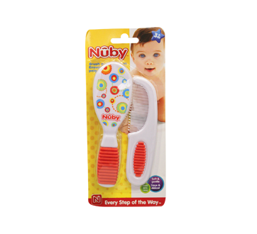 Image 2 of product Nuby - Comb and Brush Set, 2 Units