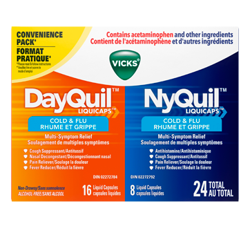 dayquil nyquil liquicaps cold and flu relief combo pack