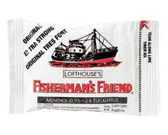 Image of product Fisherman's Friend - Original Extra Strong Lozenges, 22 lozenges