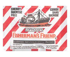 Image of product Fisherman's Friend - Cherry Sucrose Free Lozenges, 22 lozenges