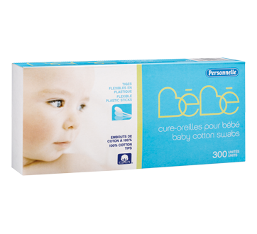 Baby Cotton Swabs, 300 units