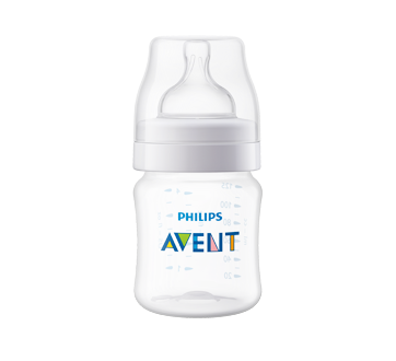 Classic Anti-Colic Feeding Bottle, 125 ml