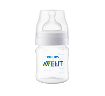 Classic Anti-Colic Feeding Bottle, 2 x 125 ml