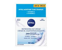 Image of product Nivea - Essentials 24h Moisture Boost + Refresh Day Cream SPF 15, 50 ml