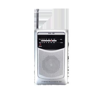 AM/FM Mini Radio, 1 unit