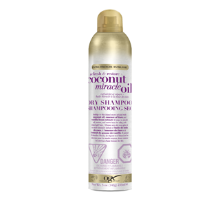 Refresh & Restore + Coconut Miracle Oil Dry Shampoo, 235 ml