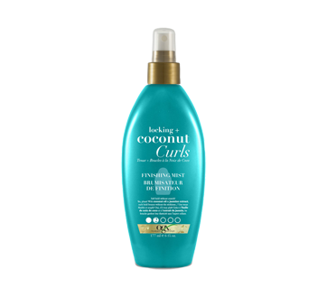 Locking + Coconut Curls Finishing Mist, 177 ml