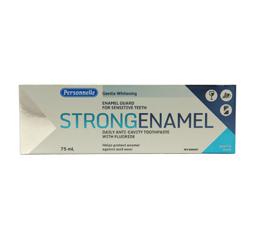 Strong Enamel Daily Anti-Cavity Toothpaste with Fluoride Gentle Mint, 75 ml, Gentle Mint