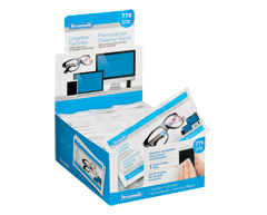 Image of product Personnelle - Premoistened Cleaning Wipes for Lenses and Electronic Display Screens, 3 units