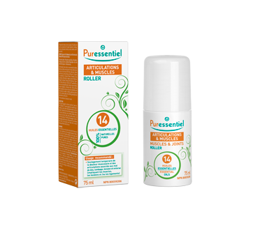 Image of product Puressentiel - Muscles and Joints Roller with 14 Essential Oils, 75 ml