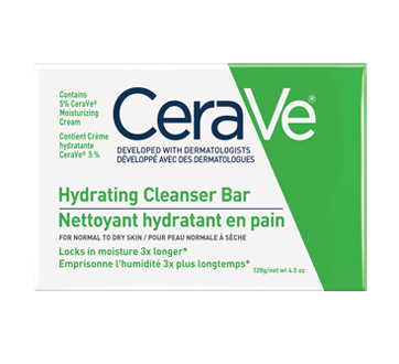 Image of product CeraVe - Hydrating Cleanser Bar, 128 g
