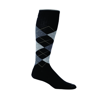 Image of product Sockwell - Argyle Therapeutic Compression Sock, 1 unit