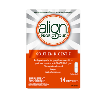 Image 2 of product Align - Daily Probiotic Supplement for Digestive Care, 14 units