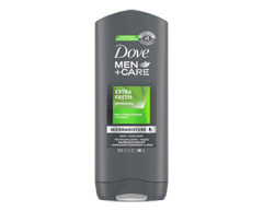 Image of product Dove Men + Care - Extra Fresh Micro Moisture Body + Face wash, 400 ml