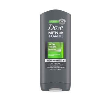 Extra Fresh Micro Moisture Body + Face wash, 400 ml
