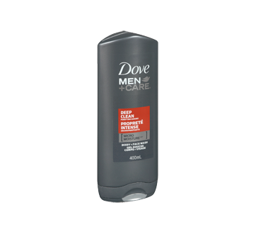 Image 2 of product Dove Men + Care - Deep Clean Micro Moisture Body + Face wash, 400 ml