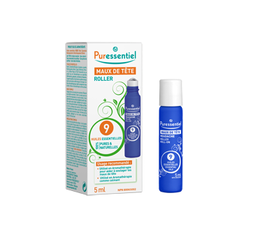 Image of product Puressentiel - Headache Roll-On with 9 Essential Oils, 5 ml
