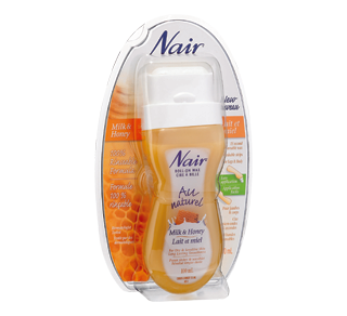Au Naturel Roll-on Wax, 100 ml, milk and honey