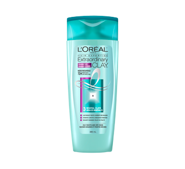 Hair Expertise Extraordinary Clay Shampoo, 385 ml, For Oily Roots and Dry Ends