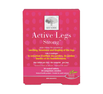 Image 1 of product New Nordic - Active Legs Strong Tablets, 30 units