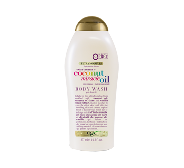 Coconut Miracle Oil Ultra Moisture Extra Creamy Body Wash, 577 ml