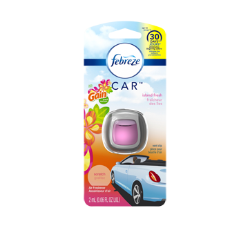 Car Air Freshener, 2 ml, Gain + Island Fresh