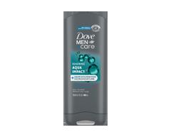 Image of product Dove Men + Care - Body And Face Wash, 300 ml, Aqua Impact