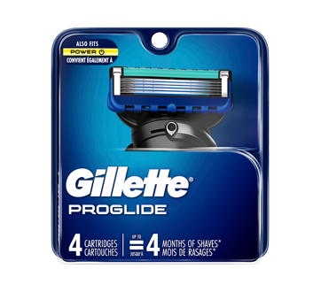 Image of product Gillette - Fusion Proglide - 4 Manual Cartridge