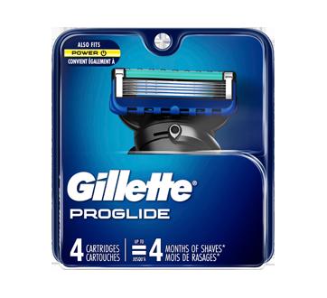 Fusion5 ProGlide Men's Razor Blades, 4 units