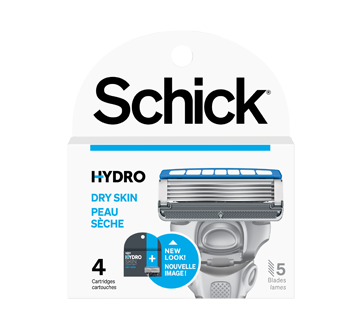Hydro Skin Comfort Dry Skin Men's Cartbridges, 4 units