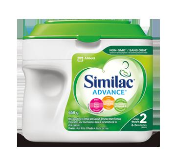 Advance Powder Baby Formula + DHA, Lutein & Natural Vitamin E, Step 2, 658 g