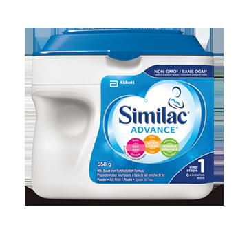 Advance Powder Baby Formula + DHA, Lutein & Natural Vitamin E, Step 1, 658 g