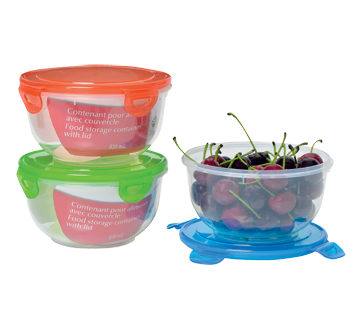 Food Storage Container with Lid, 820 ml