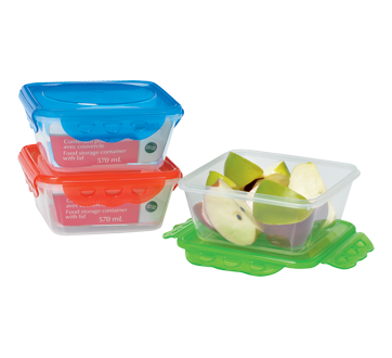 Food Storage Container with Lid, 570 ml
