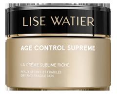 Image of product Lise Watier - Age Control Supreme La Crème Sublime Riche, 50 ml