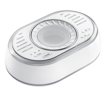 Image of product HoMedics - SoundSpa Ultra Portable Rechargeable Sound Machine, 1 unit