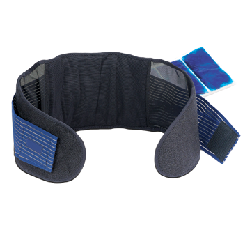 Image of product ObusForme - Back Belt with Hot/Cold Gel Pack, 1 unit