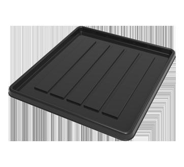 Storex School Locker / Office Cubicle Boot Tray, Black, 1 unit, Black
