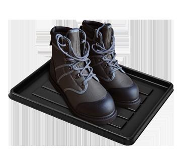 Image 2 of product Storex - Storex School Locker / Office Cubicle Boot Tray, Black, 1 unit, Black