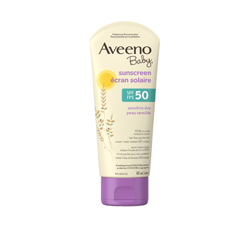 Aveeno Baby SPF 50 Sunscreen, Sensitive Skin, 88 ml